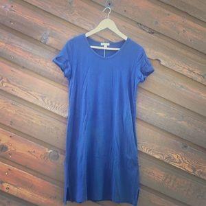 Standard James Perse navy blue dress